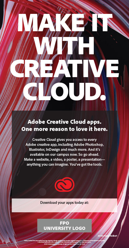 Make It With Creative Cloud poster