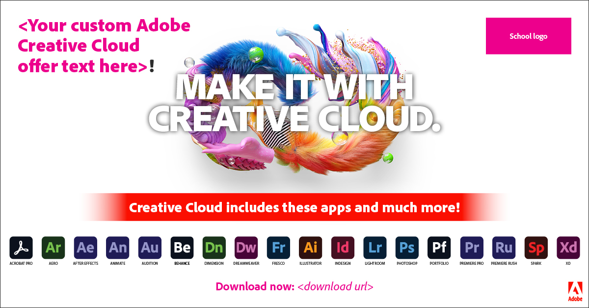 Make It With Creative Cloud banner