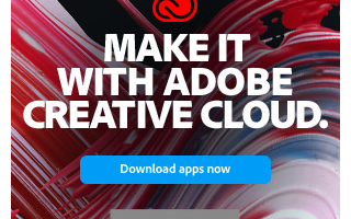 Adobe Make It With Creative Cloud banner 300x600